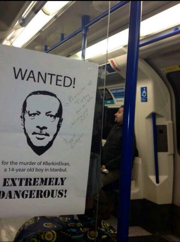 Photo taken on the London Underground, 12 March 2013